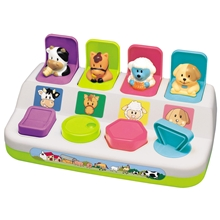 Happy Baby Pop Up Farm Animals