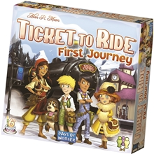 Ticket To Ride First Journey (SE)