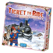 Ticket To Ride Nordic Countries (svensk)