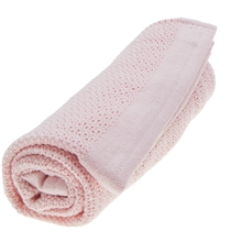 Vinter & Bloom Tæppe Soft Grid EKO Blossom Pink