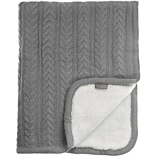 Vinter & Bloom Tæppe Cuddly Dove Grey