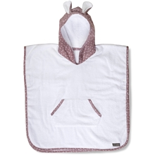 Vinter & Bloom Nordic Leaf Badeponcho Soft Pink