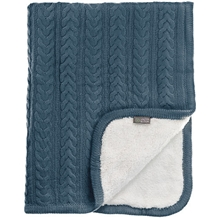 Vinter & Bloom Tæppe Cuddly Storm Blue
