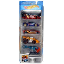 Hot Wheels Basic Pakke med 5 stk.