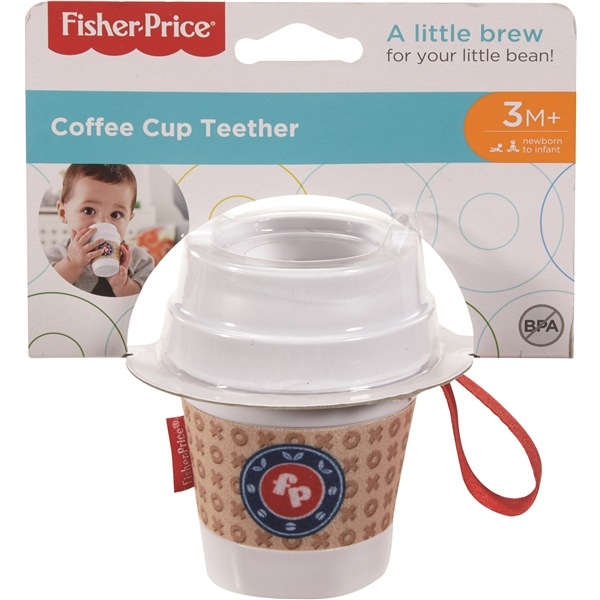 Fisher-Price® Coffe Cup Teether (Billede 4 af 4)
