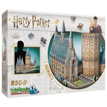 Wrebbit 3D Puslespil Harry Potter Hogwarts Hall