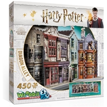 Wrebbit 3D Puslespil Harry Potter Diagon Alley